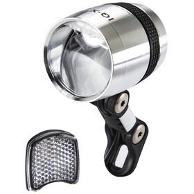 Busch + Müller Lumotec IQ-X Dynamo-Frontscheinwerfer LED silber